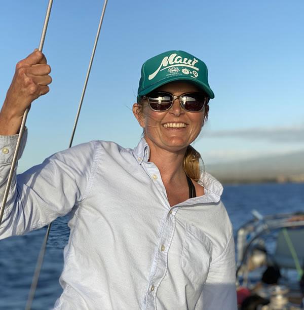 Taylor, Fairfax, Maui sailing charters