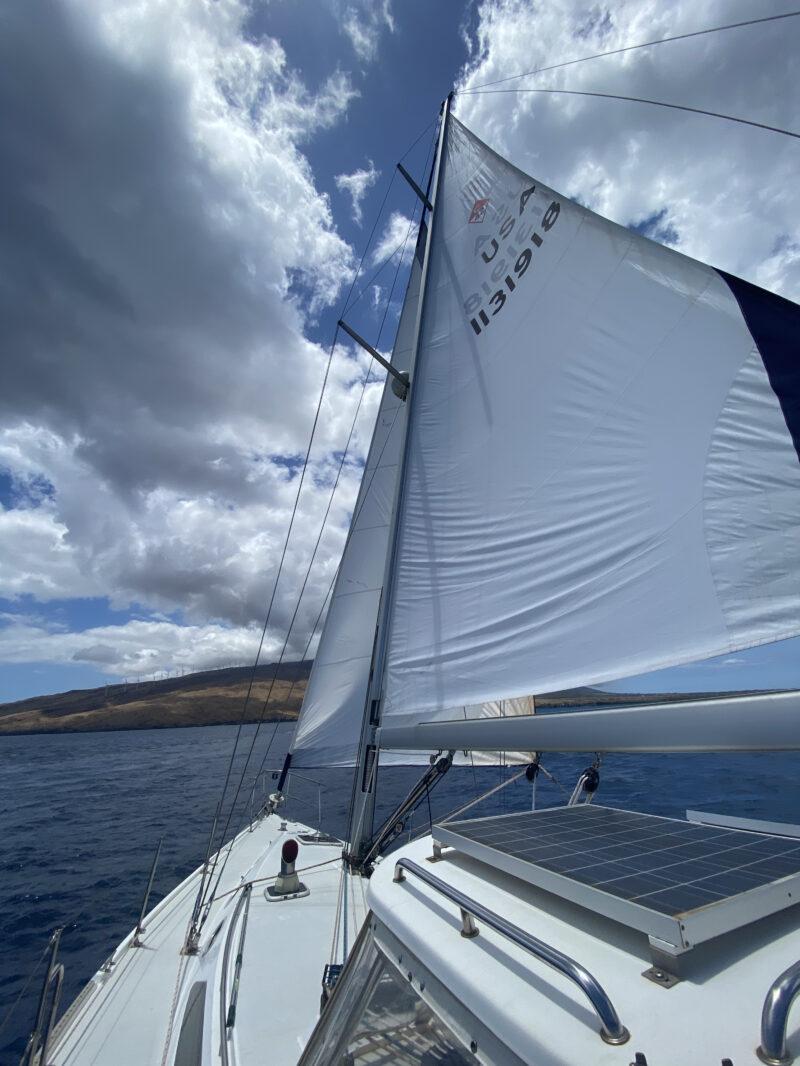 Full Sail Catalina 42 Maui Private Charter Sailboat