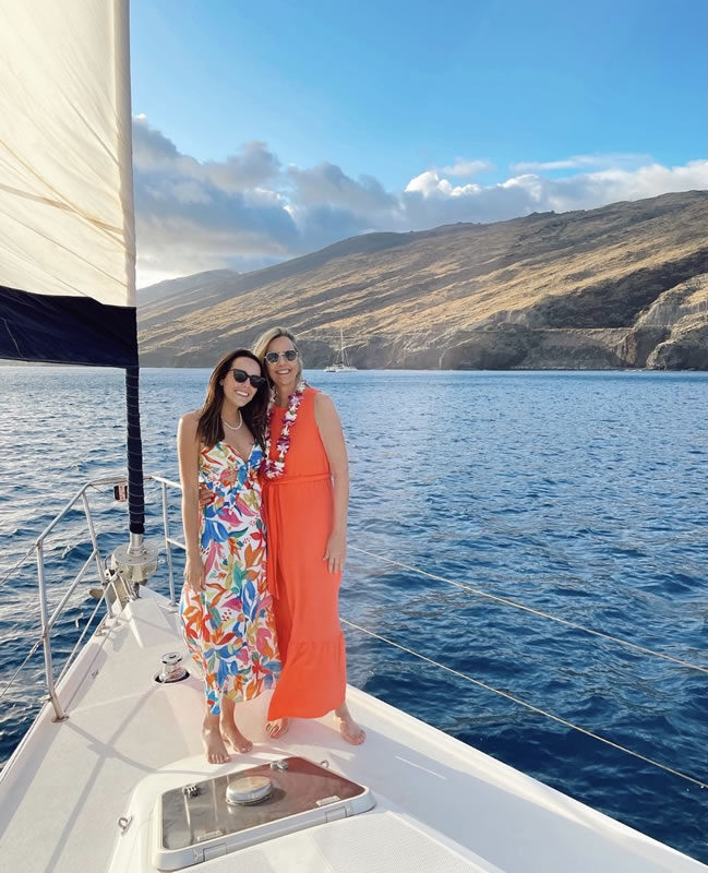 Maui Custom Charters birthday guests