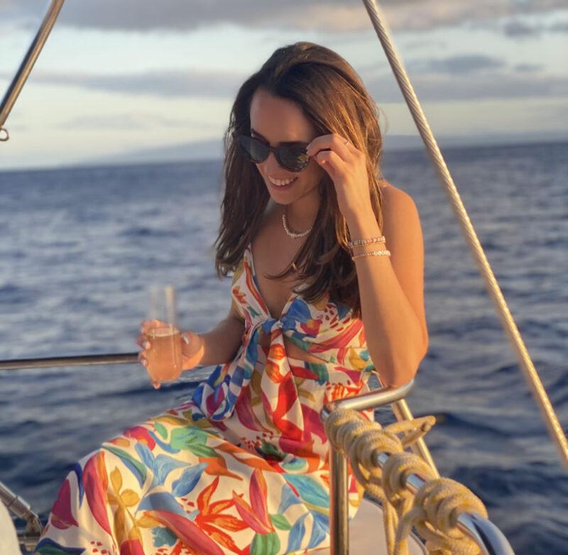 Private charter sunset sail maui custom charter