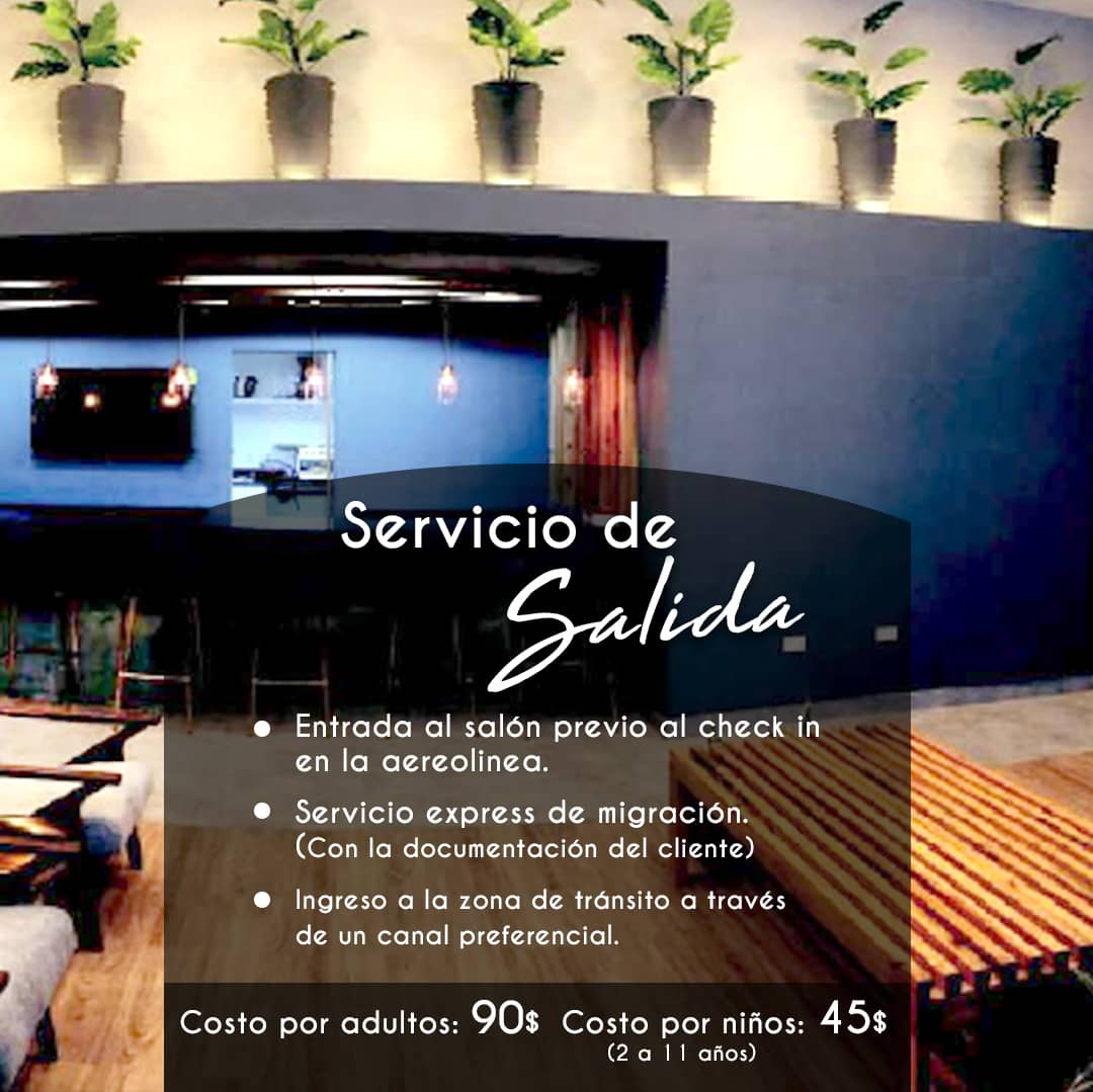 2 Servicio VIP en el Aeropuerto Internacional Simon Bolivar Agencia de Viajes en Caracas Nbg Tours vuelosypaquetes.com