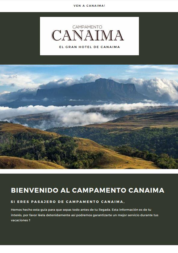 Campamento Canaima - Todo Incluido - Nbg Tours Agencia de Viajes