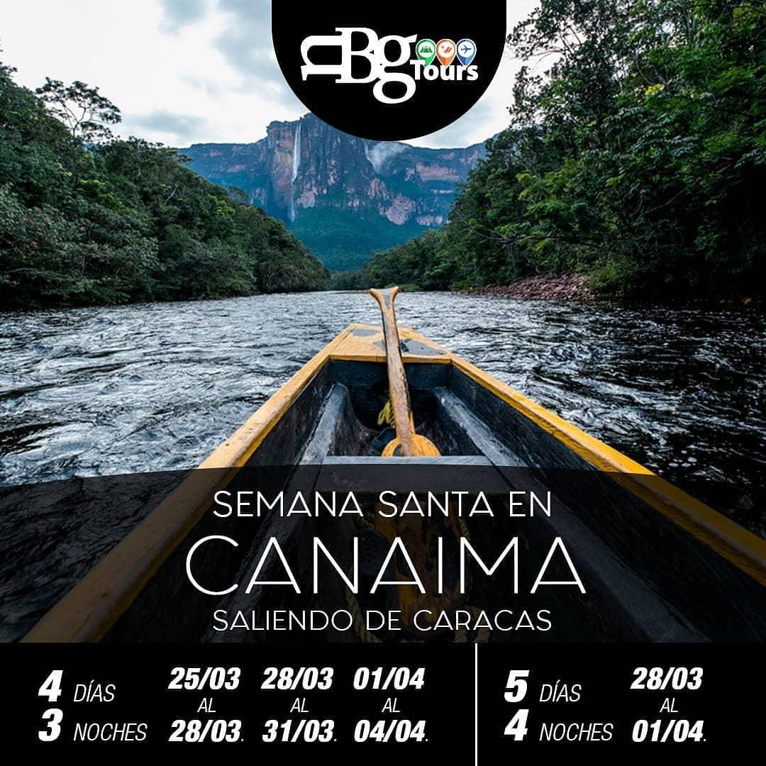 Itinerarios Canaima en Semana Santa - Nbg Tours Agencia de Viajes
