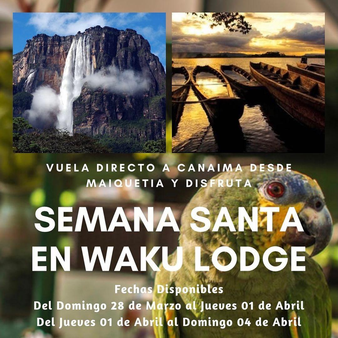 Waku Lodge en Semana Santa 2021 - Nbg Agencia de Viajes en Caracas