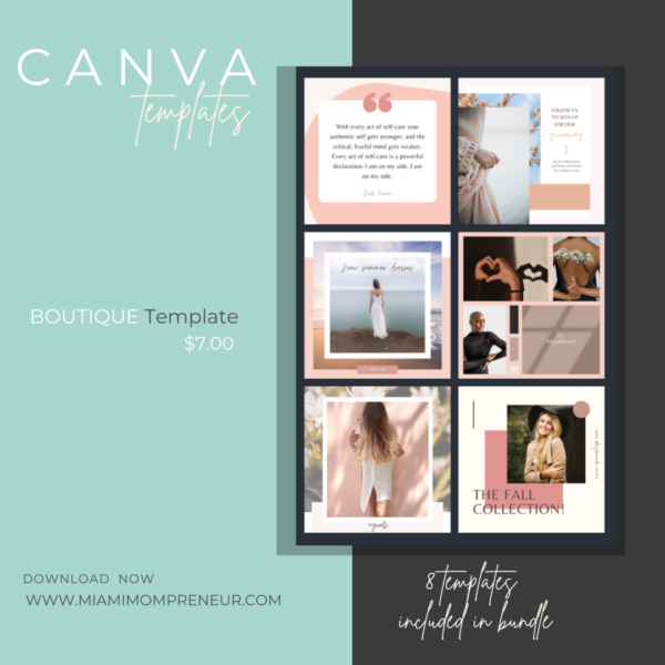 Boutique CANVA Template
