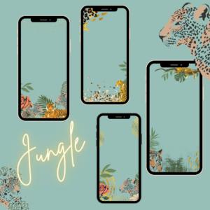 Jungle Story Frames