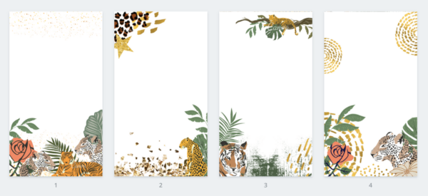 JUNGLE Story Frames