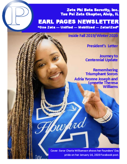 Pearl Pages – Fall/Winter 2019 – 2020