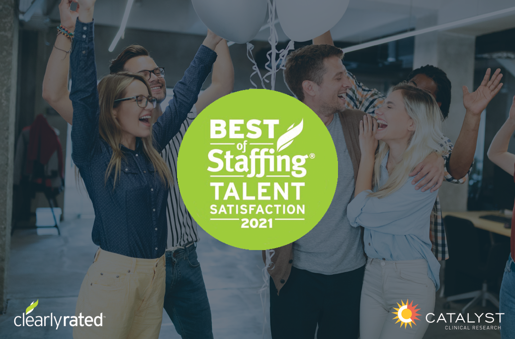 Catalyst Receives High Rankings in 2021 Best of Staffing Talent Awards