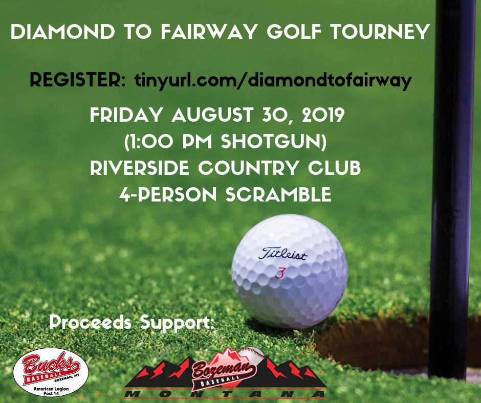 Diamond to Fairway Golf Tourney--Sign up to play or sponsor a hole Now!