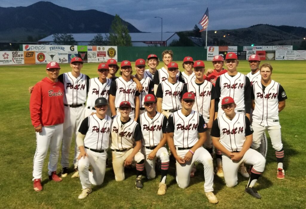 Bozeman Bucks AA play tonight at 7 pm vs. the Billings Royals at Montana Legion AA State Tournament