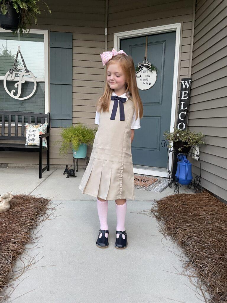 accessorizing school uniforms