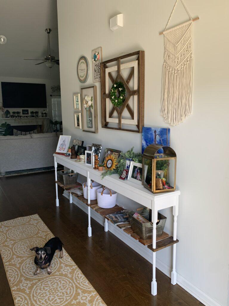 Being Mrs. Fowler, Making a House a Home, Boho Farmhouse Decor Ideas,  Entryway