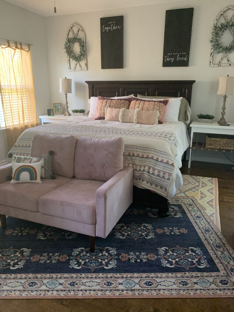Being Mrs. Fowler, Making a House a Home, Boho Farmhouse Decor Ideas,  Bedroom