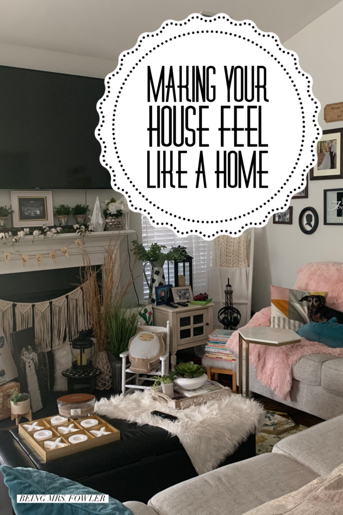 Being Mrs. Fowler, Making a House a Home, Boho Farmhouse Decor Ideas,  Pinterest