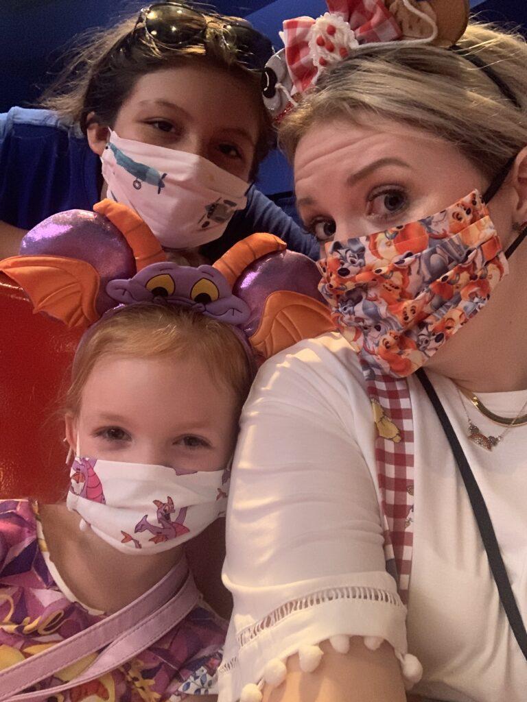 Disney during a pandemic, face masks