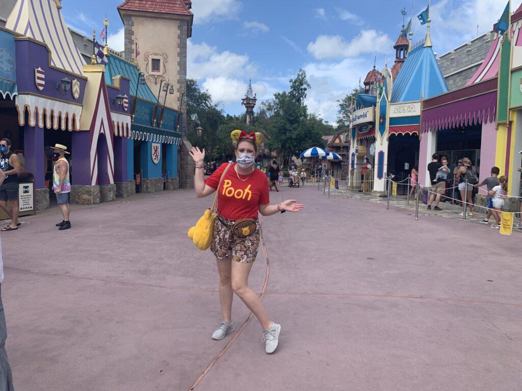 Disney during a pandemic, social distancing