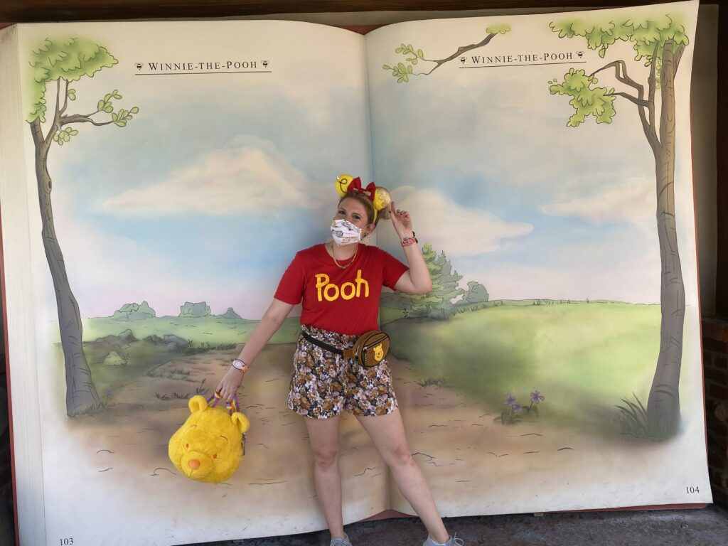 Disney during a pandemic, winnie the pooh disney bound