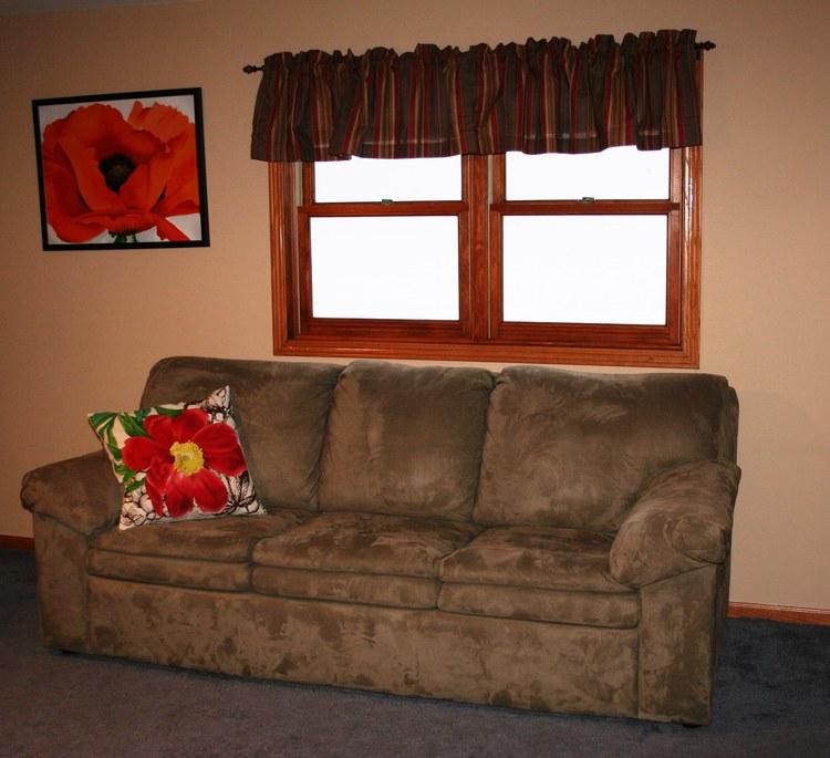 Poppy Room Sofa, Valley Springs Farm, Reedsburg, WI