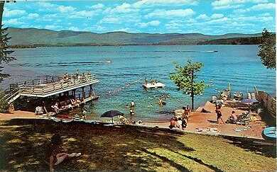 Lake George Resort History