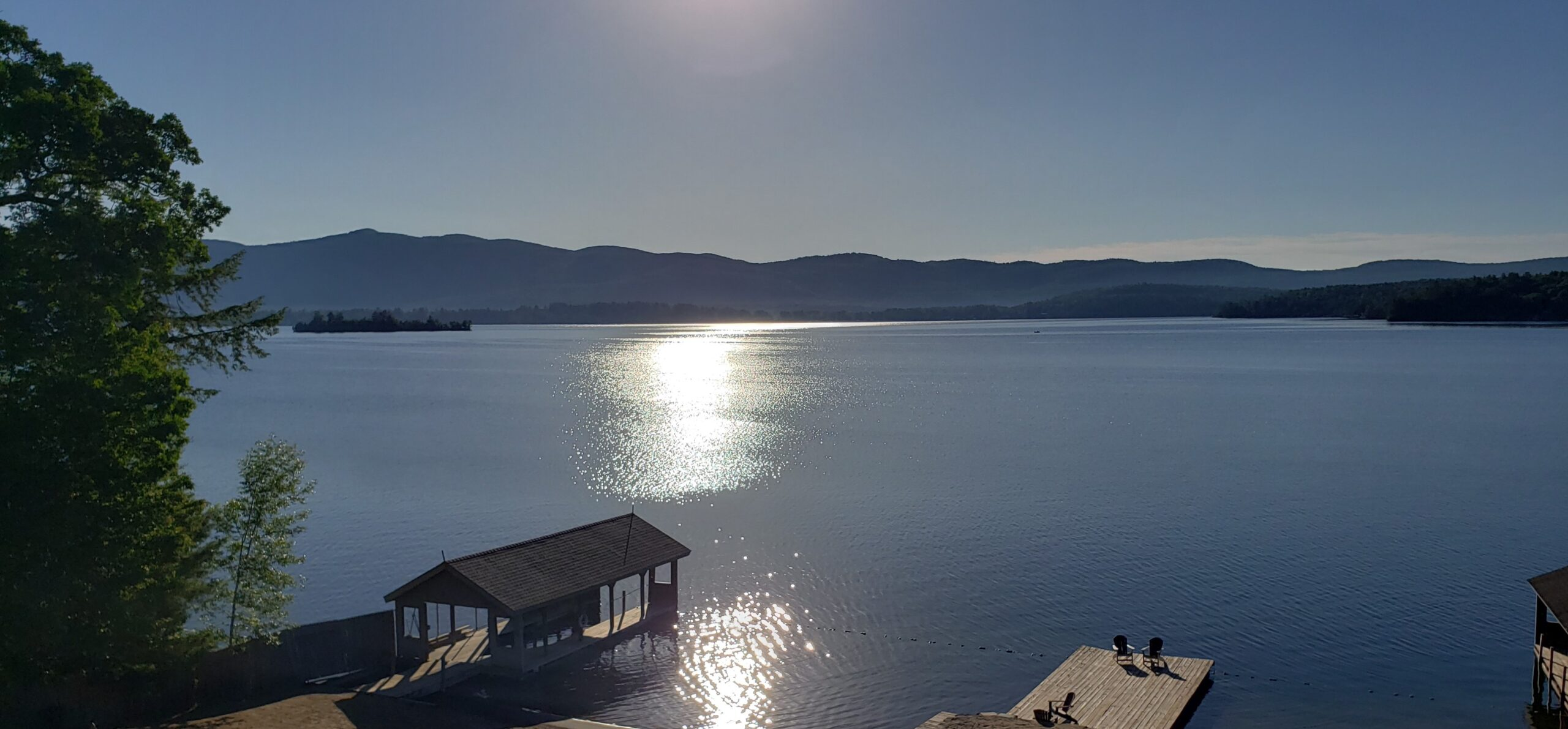 Lake George Resort View