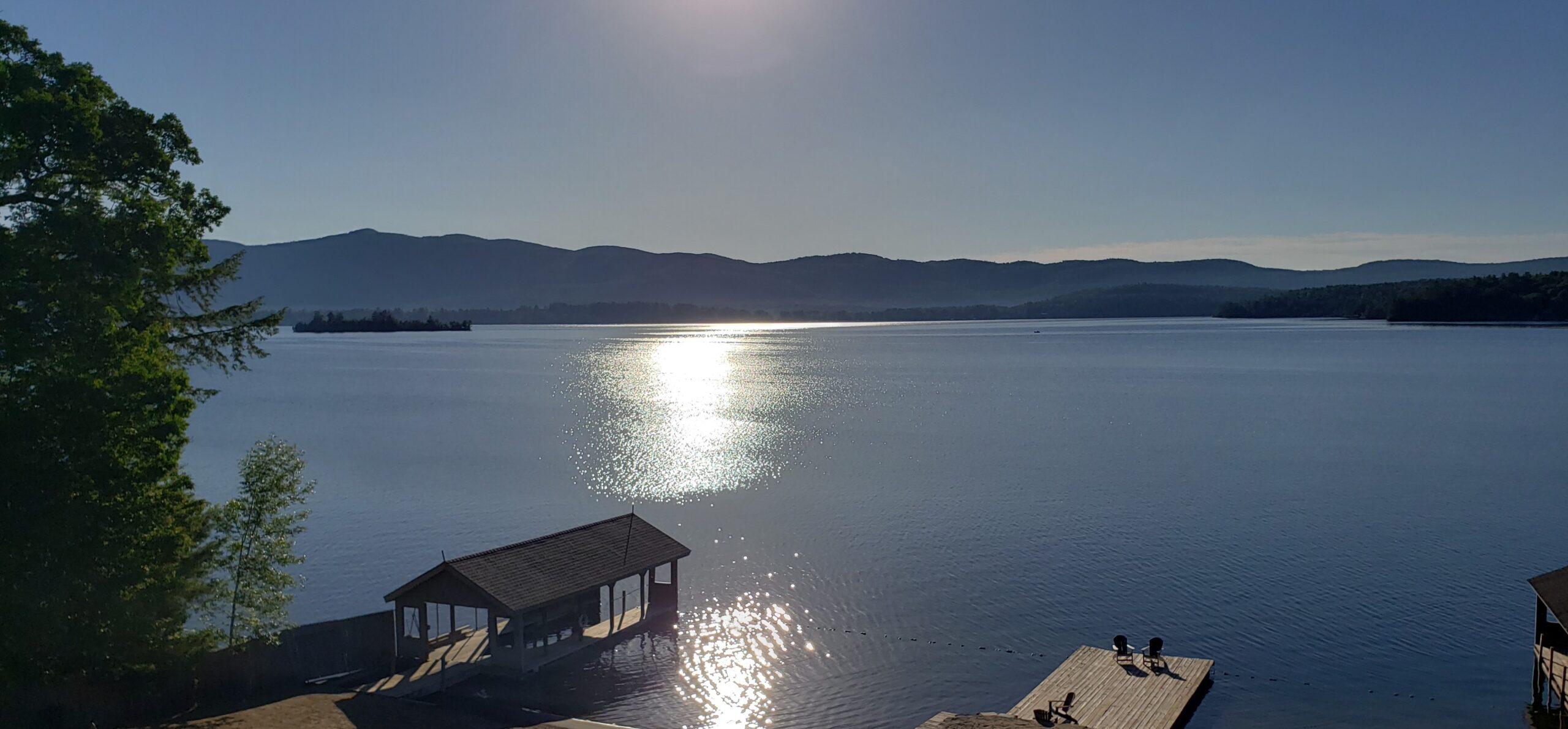 Lake George Resort View