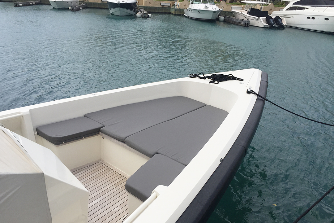 bespoke canvas boat cover provided by Undercover Canvas