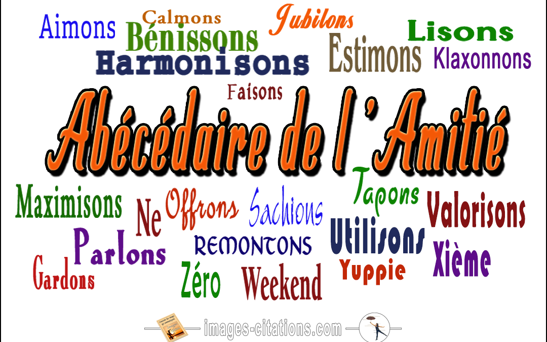 abecedaire images citations