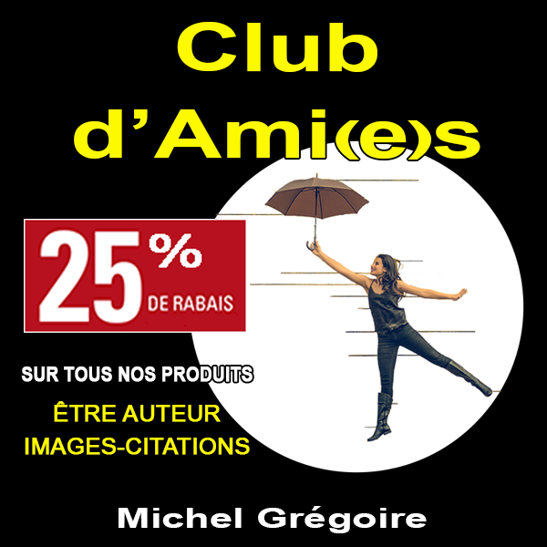 Club d'Ami(e)s etre auteur images citations