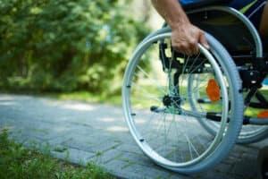 Wheelchair walk - ADA