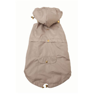 chaqueta impermeable beige - Feroz