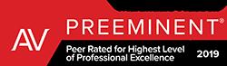 AV Rated Preeminent Lawyer