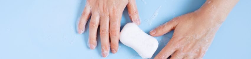 An antibacterial soap for body.