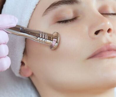 A high frequency facial.