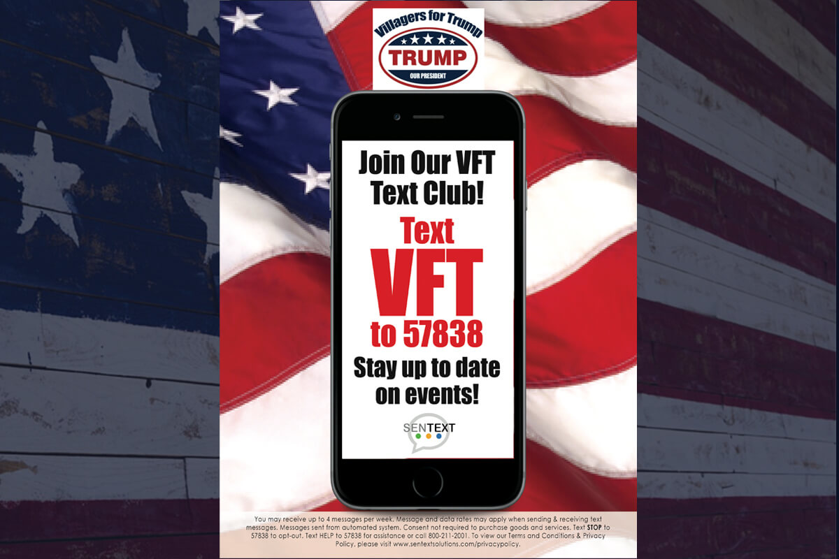 Sign up for the VFT Text Service
