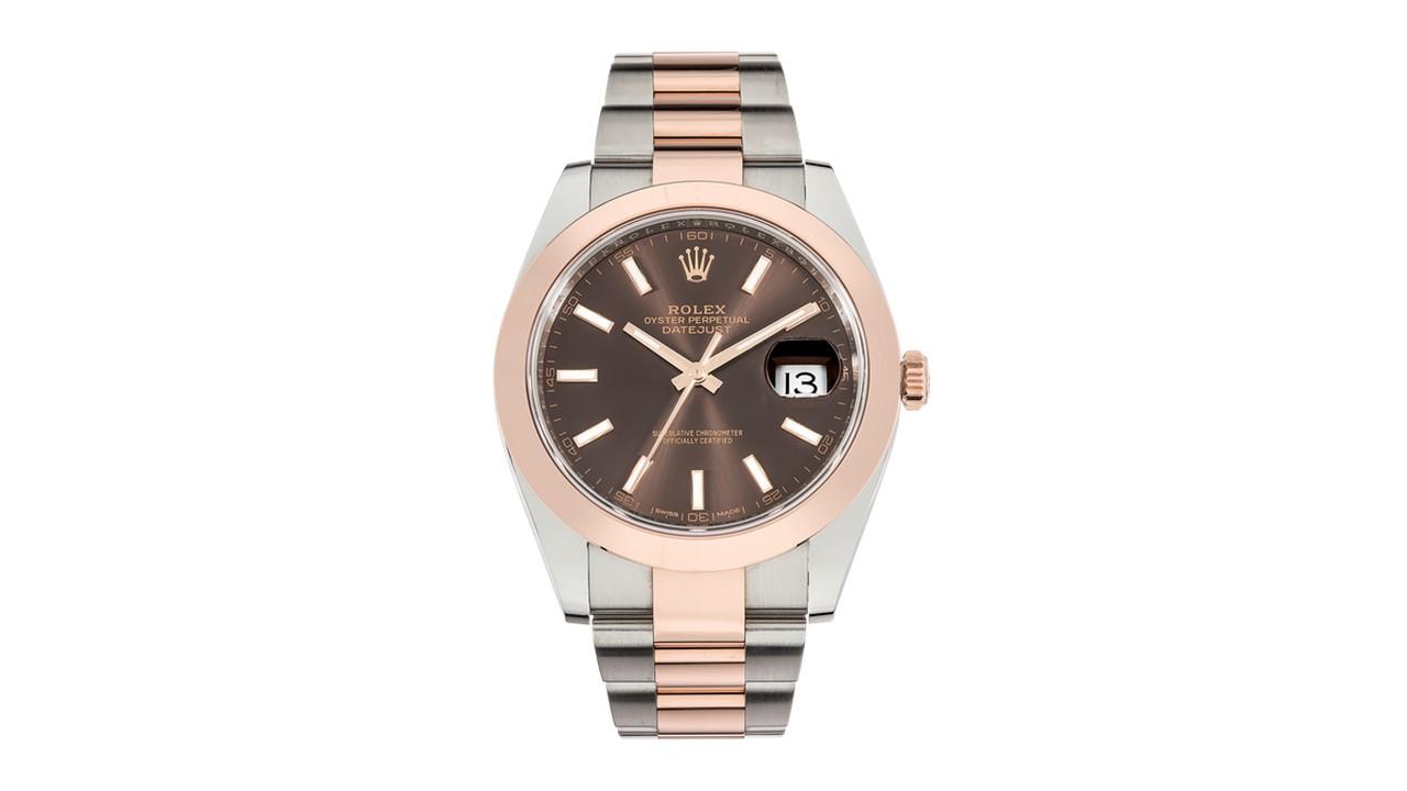 Rolex 18kt Rose Gold Men's Rolex Datejust
