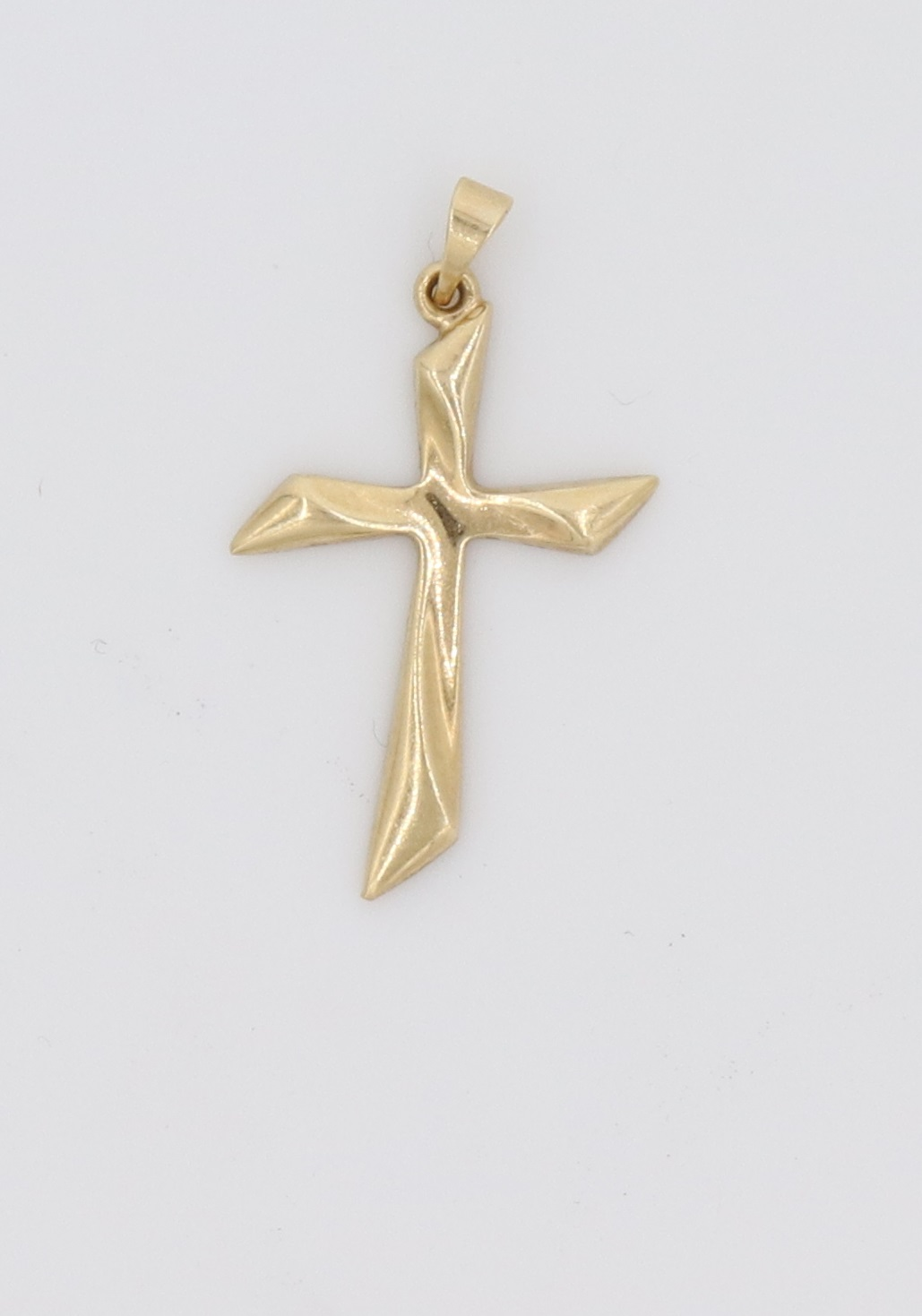 14kt Gold Cross Pendant