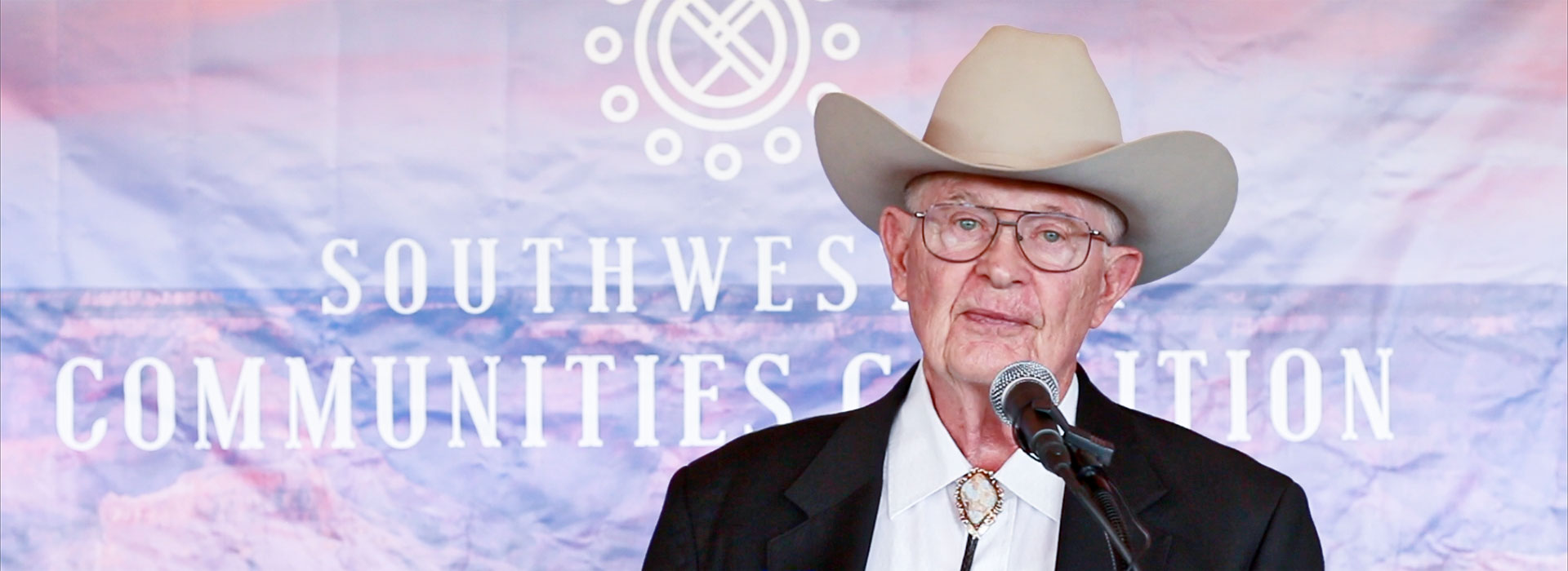 Rancher Jim Chilton Speaks at Southwestern Communities Coalition Kickoff Luncheon