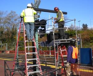 Germantown Site - Sign Installation