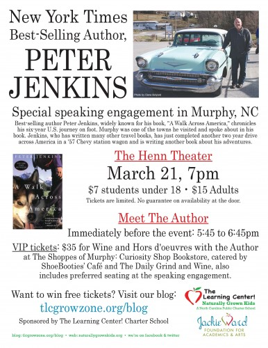 Peter Jenkins Flyer
