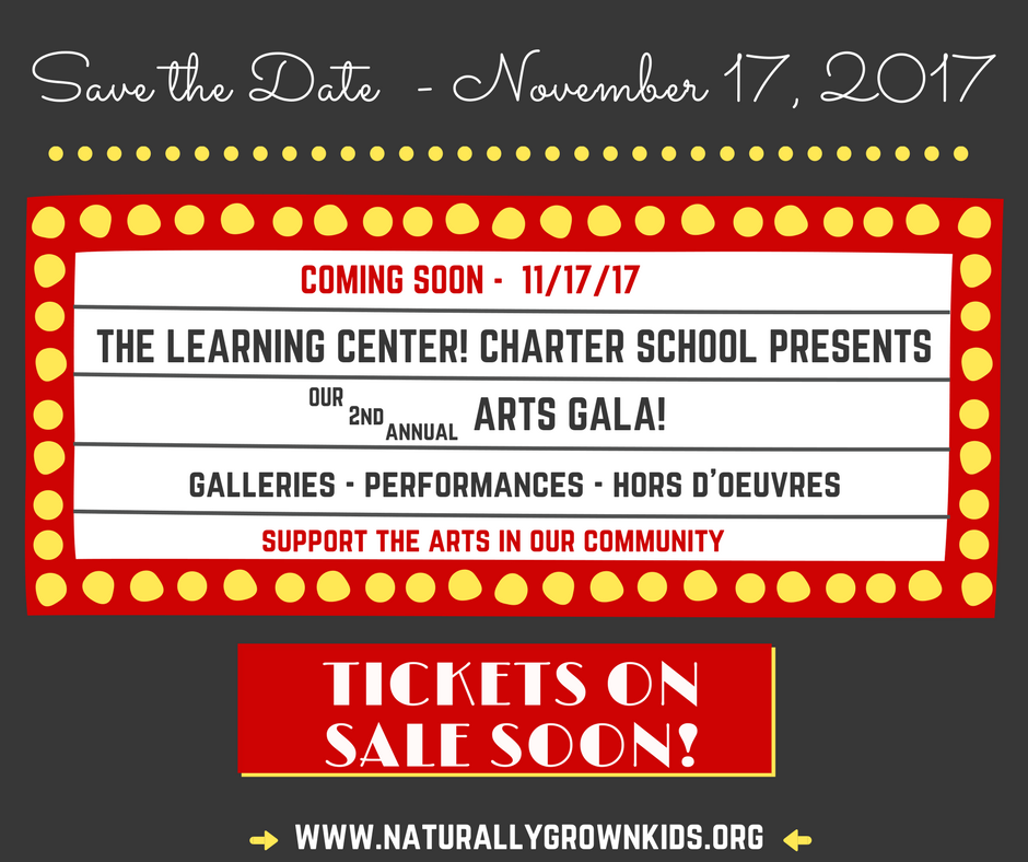 Save The Date - Arts Gala - Event Cover