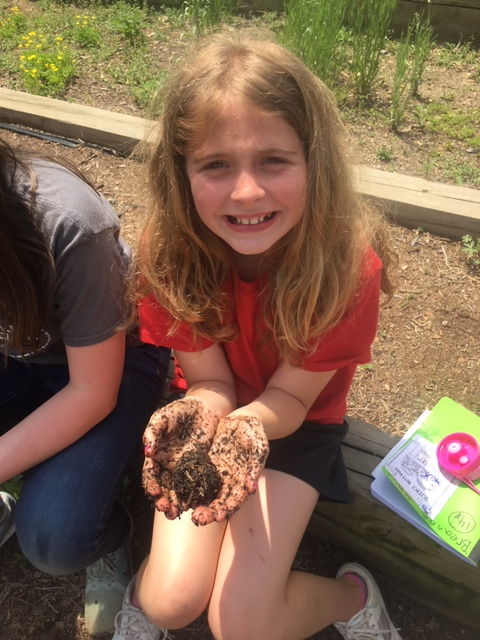 Students at The Learning Center Charter School regularly play in the dirt.