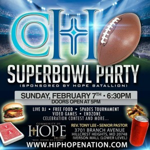superbowl party 2016