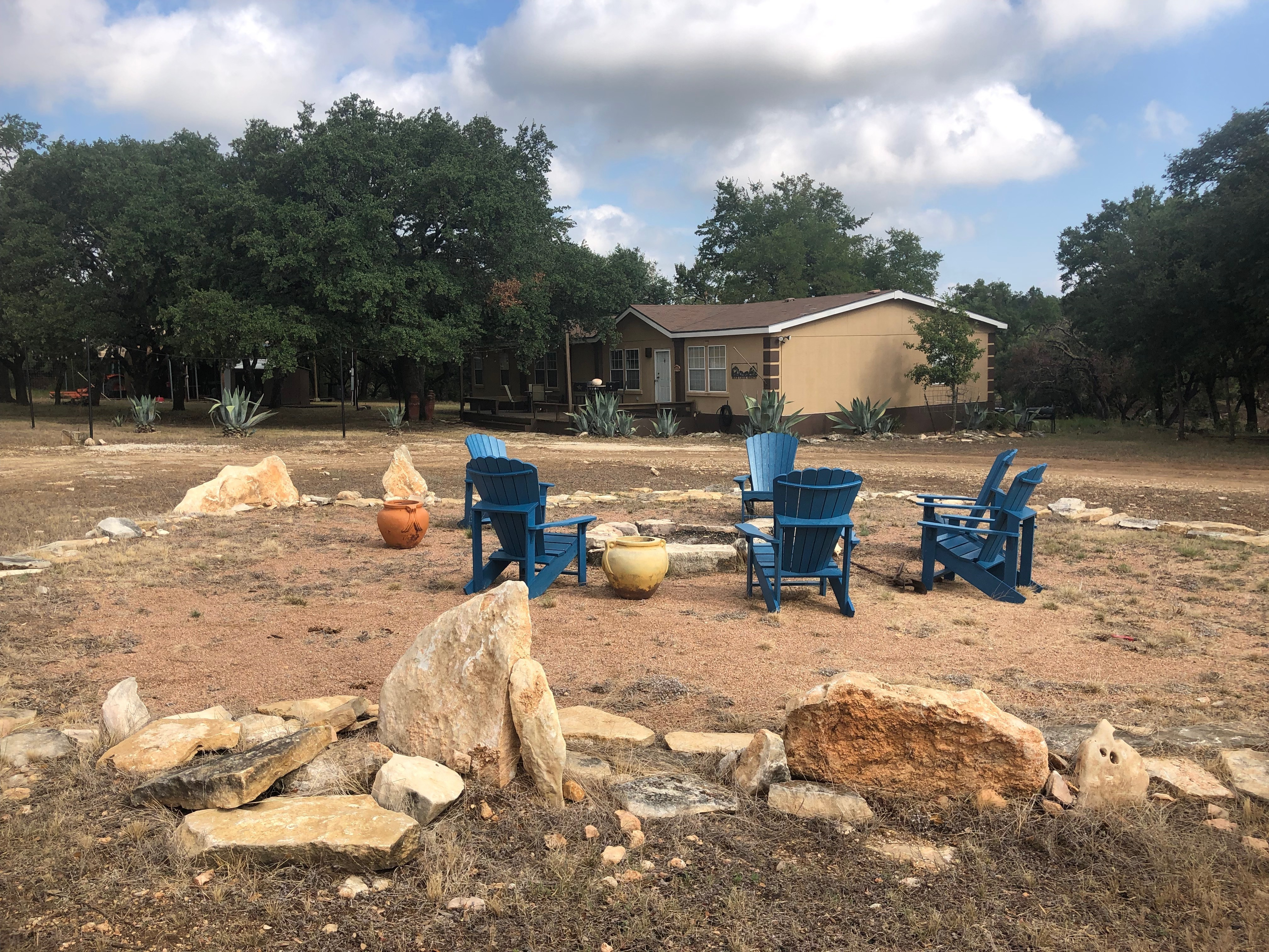 Copperas Cove Lodge and Fire Pit