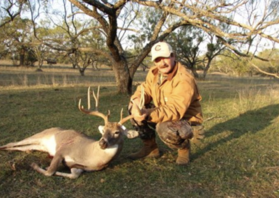 Mature Texas Buck Harvest