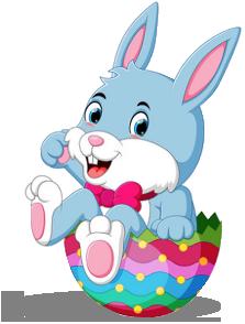 Easter Bunny Egg Basket Hunt