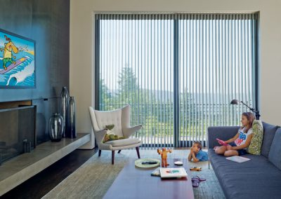 Century Blinds vertical light filtering Sheer shades