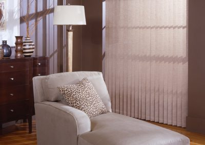 vertical blinds with valance