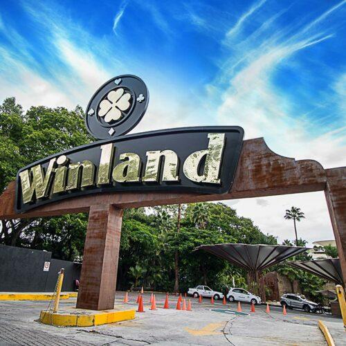Fachada Casino Winland Cuernavaca