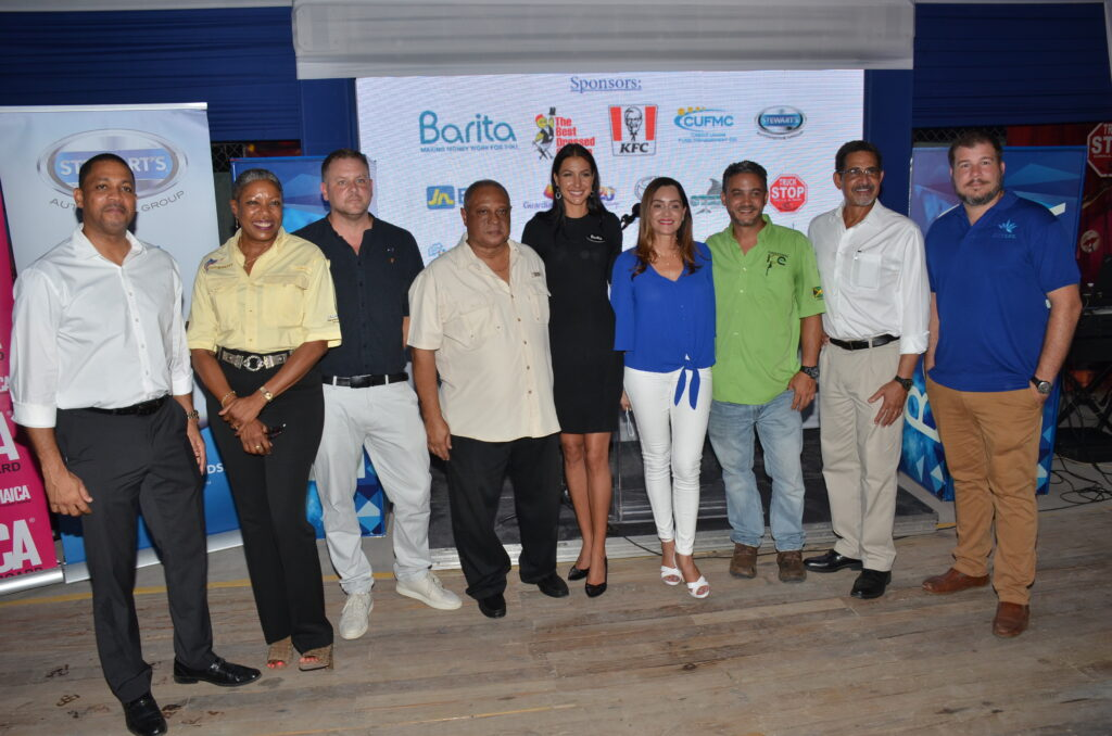 Our Sponsors with MP Mrs. Ann Marie Vaz